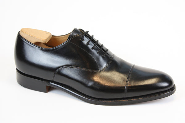 Joseph Cheaney - Lime - Black Leather