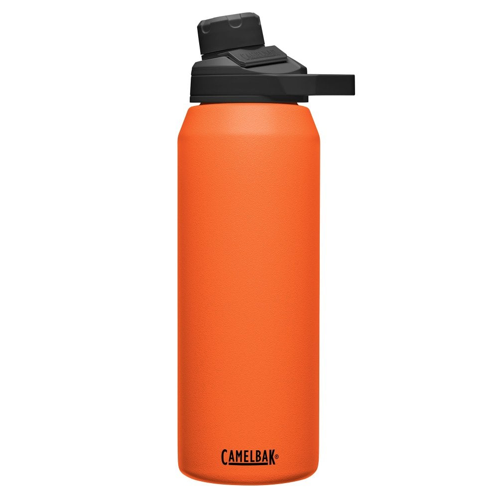 Cambelbak's Chute Mag bottle is a versatile and stylish way to keep your drink at the right temperature and reduce plastic waste by sticking to a reusable drinks bottle. Coming in a suave orange hue, with stainless steel upper and a comfortable, practical drinking nozzle, it's the ideal drinks bottle and the only one you'll ever need.