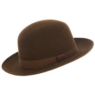 Christys' Foldaway Trilby - Sable Brown - Regent Tailoring