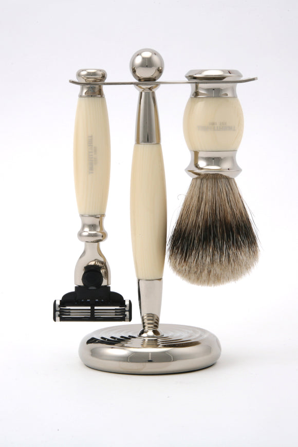Truefitt & Hill Edwardian Collection Shaving Set - Faux Ivory - Regent Tailoring
