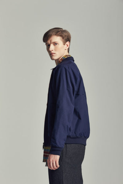 Baracuta - G9 - Harington Jacket - Navy - The Original