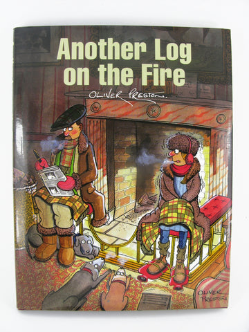 Another Log On The Fire by Oliver Preston