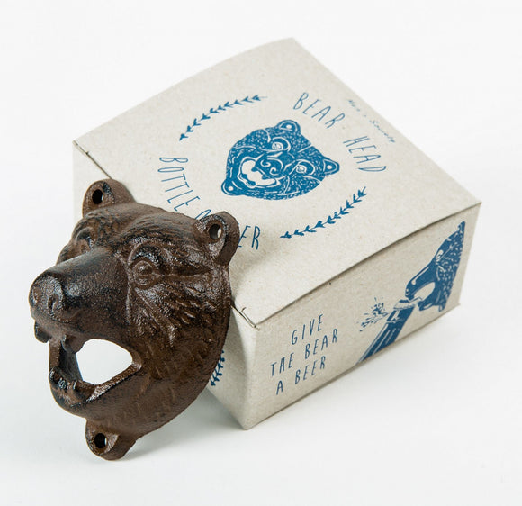 Men's Society Bear Head Bottle Opener - Regent Tailoring