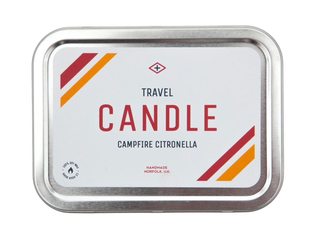 Men's Society - Citronella Campfire Candle - Regent Tailoring