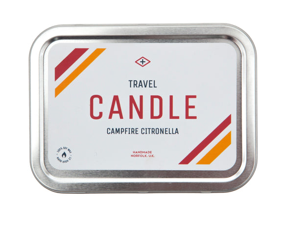 Men's Society Citronella Campfire Candle - Regent Tailoring