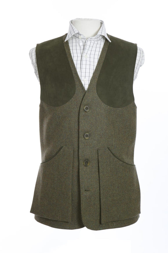 Regent Tweed Shooting Vest