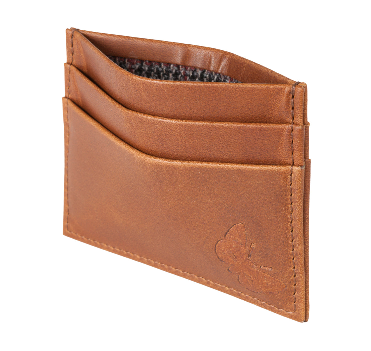 Regent Leather Card Case - Rusty Brown