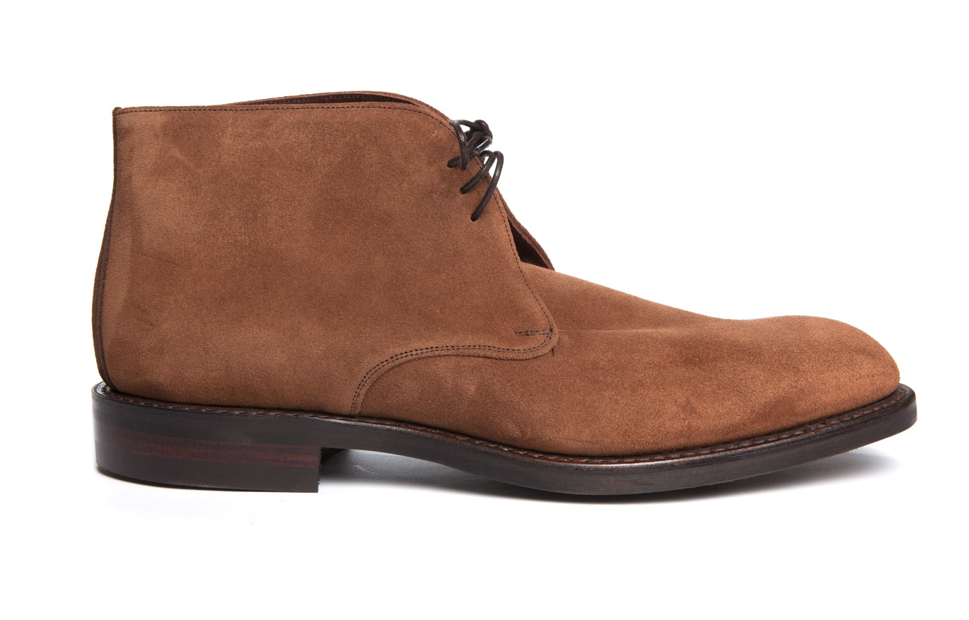 Regent - Jackie - Brown Suede Badger Boot - Regent Tailoring