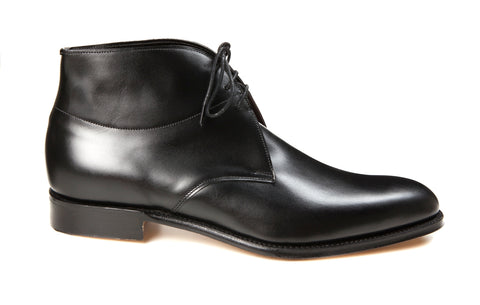 Regent Frank George Boot, Black Calf Leather