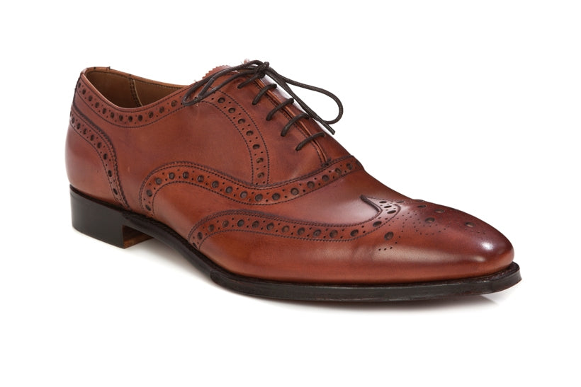 Cheaney Litchfield Brogue Shoe Brandy - Regent Tailoring