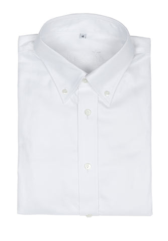 Regent - Shirt - Heritage - Oxford White - Button Down