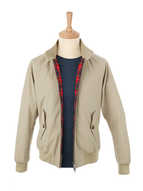 Baracuta - G9 - Harington Jacket - Natural - The Original - Regent Tailoring