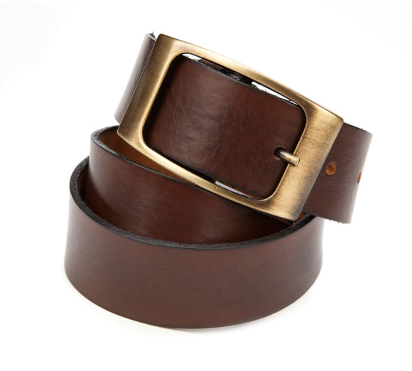 Regent Brown Leather Jean Belt