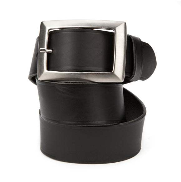 Regent Black Leather Jean Belt