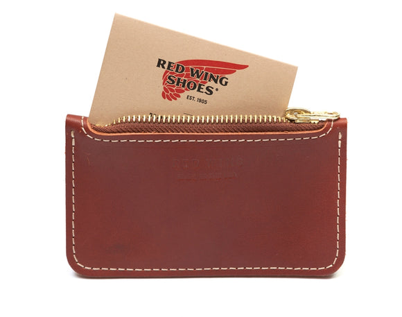 Red Wing - Zipper Pouch - Oso Russet - Regent Tailoring