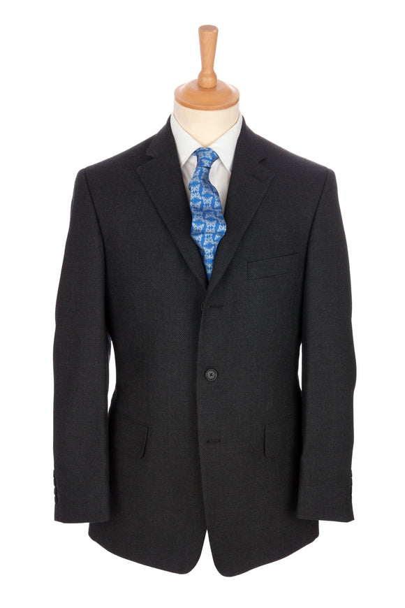 Regent - 'Charles' Heritage - 3-Button Suit In Grey Wool