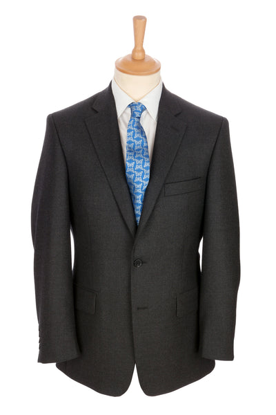 Regent - 'Gray' Heritage - 2-Button Suit in Grey Wool