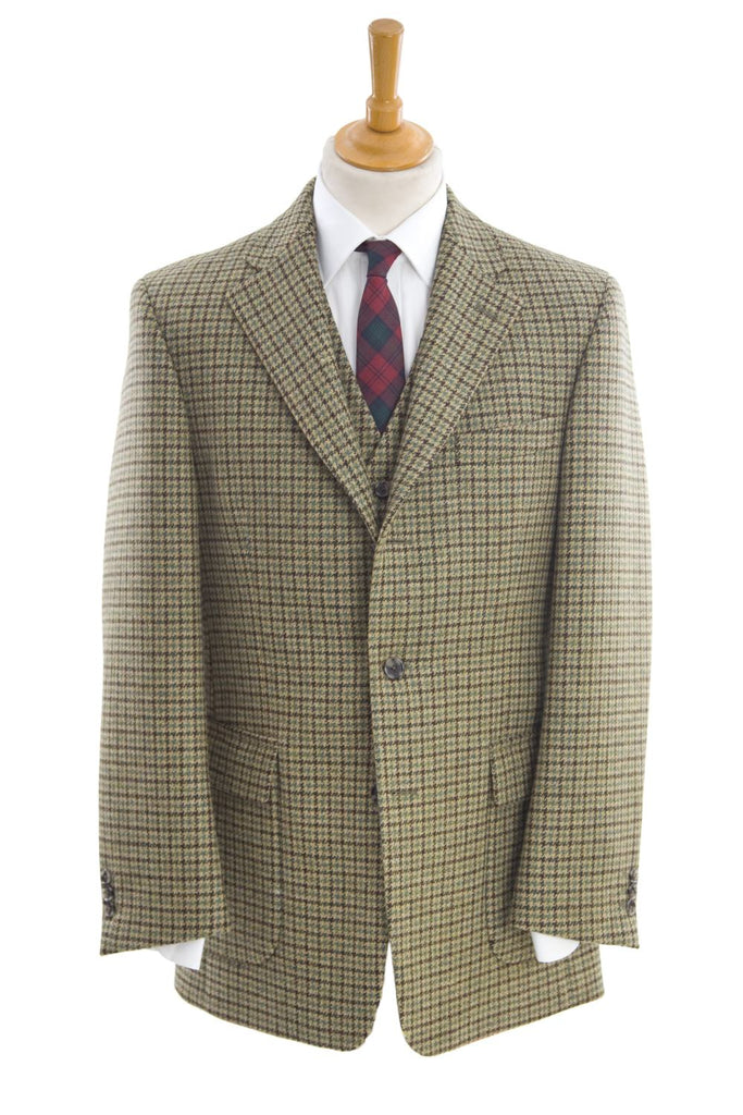 Regent - Shooting Suit - Dogstooth Check - Regent Tailoring