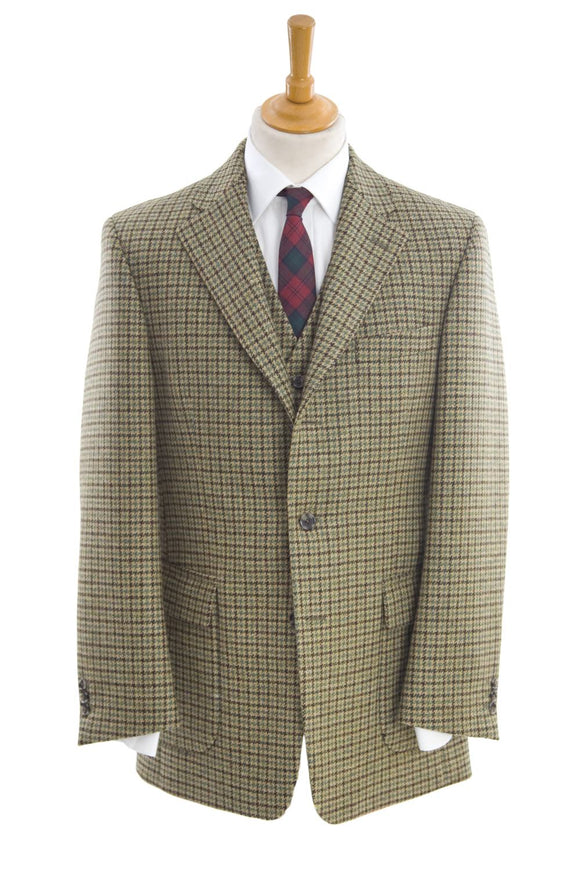 Regent Shooting Suit - Dogstooth Check - Regent Tailoring