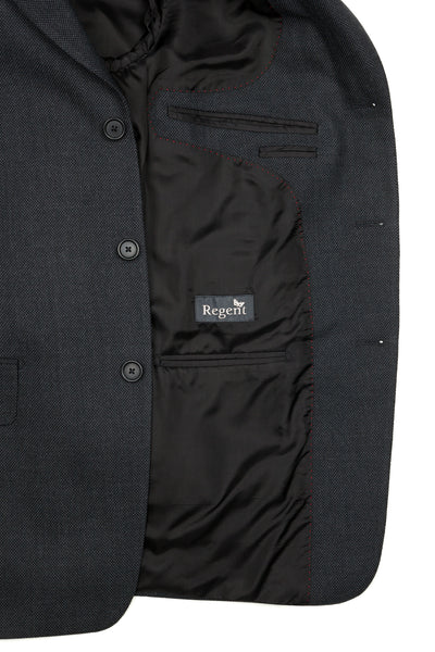 Regent - 'Charles' Heritage - Three Button Suit In Grey Wool