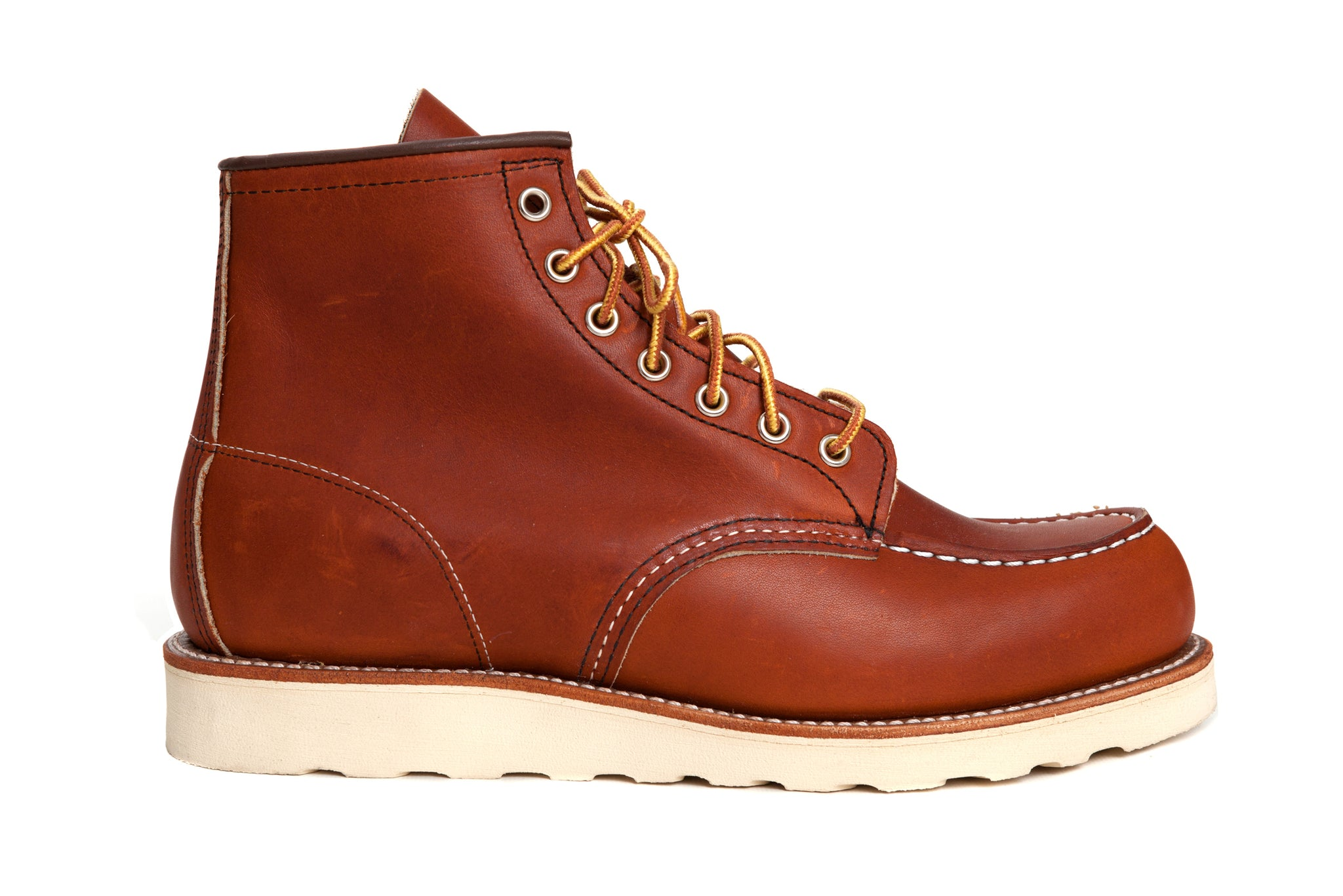 Red Wing Shoes - Classic Moc Toe - 875 - Oro Legacy - Regent Tailoring