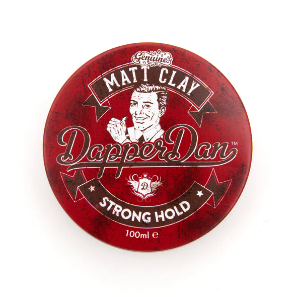 Dapper Dan Strong Hold Matt Clay