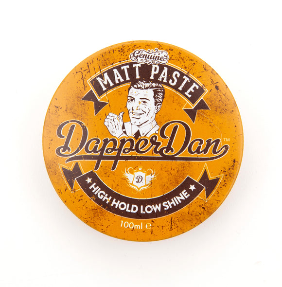Dapper Dan High Hold Low Shine Matt Paste