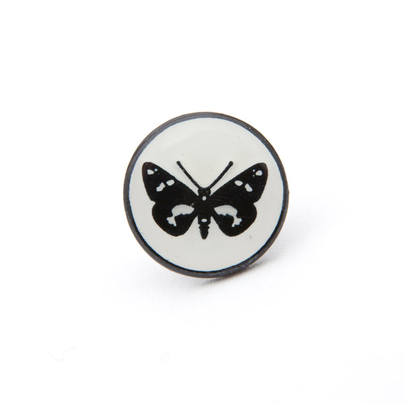 Regent Butterfly Pin Badge