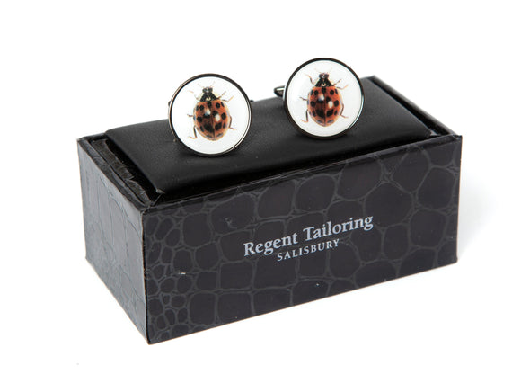 Regent Cufflinks - Ladybirds