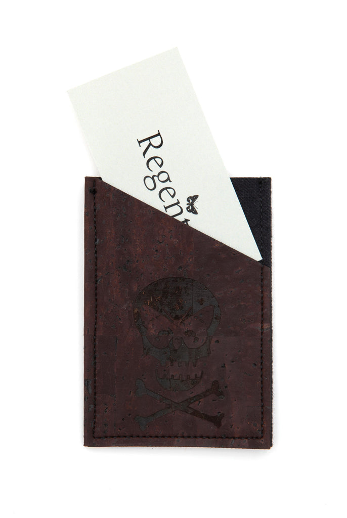Regent Leather Card Holder - Brown - Regent Tailoring