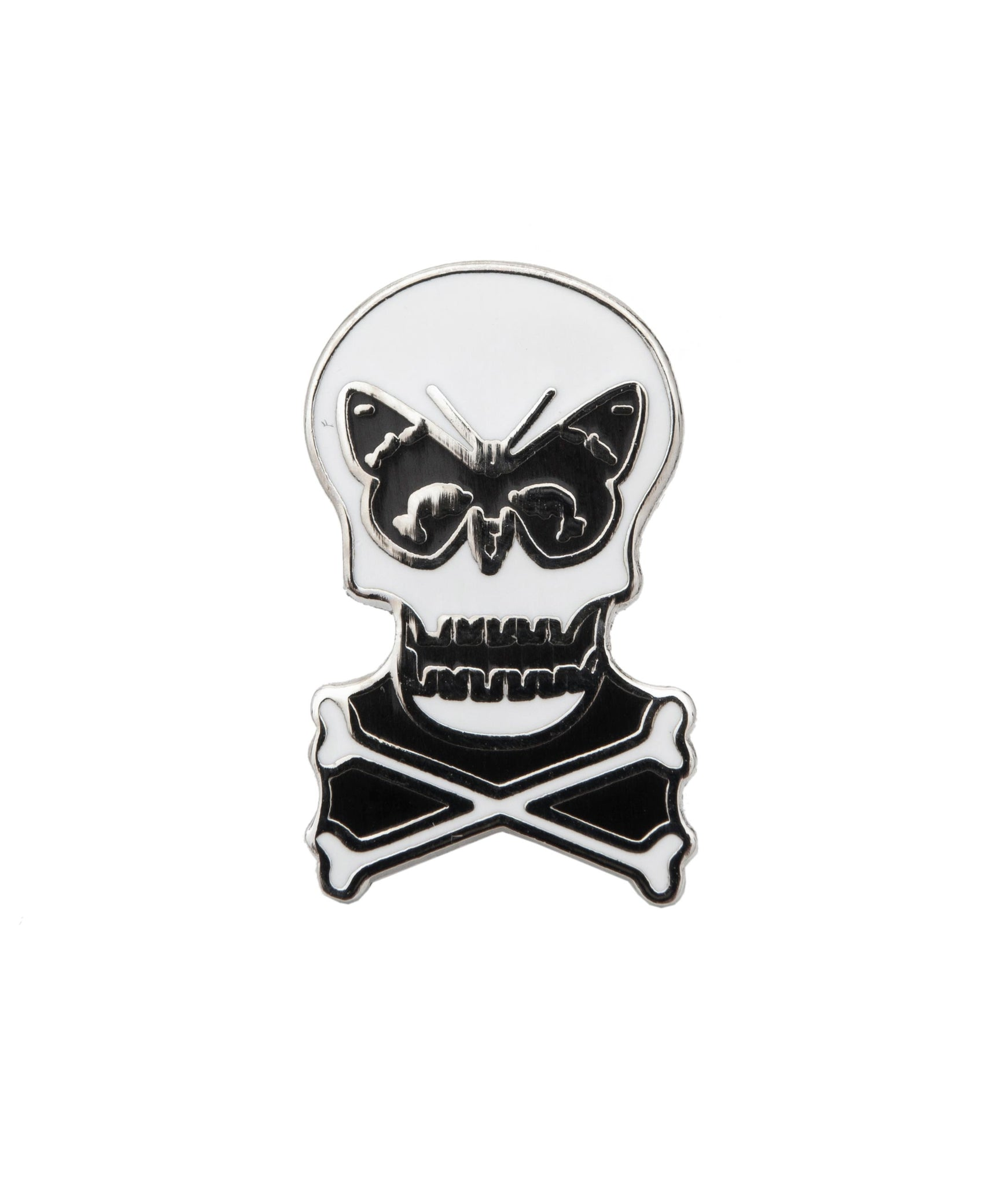 Regent Skull Pin Badge