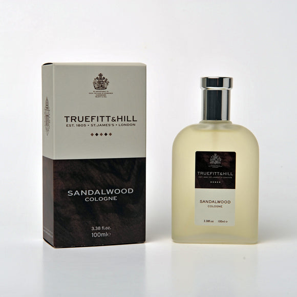 Truefitt & Hill Sandalwood Cologne 100ml - Regent Tailoring