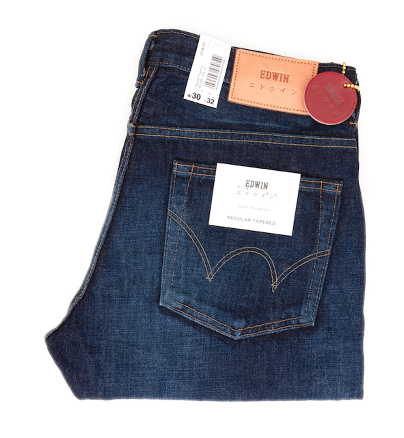 Edwin - ED33 -226 Jeans - Regular Tapered - Rainbow Selvage Denim - Regent Tailoring
