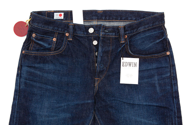 Edwin Jeans - Regular Tapered - Rainbow Selvage Denim