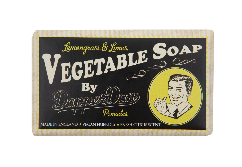 Dapper Dan Lemongrass & Limes Vegetable Soap - Regent Tailoring