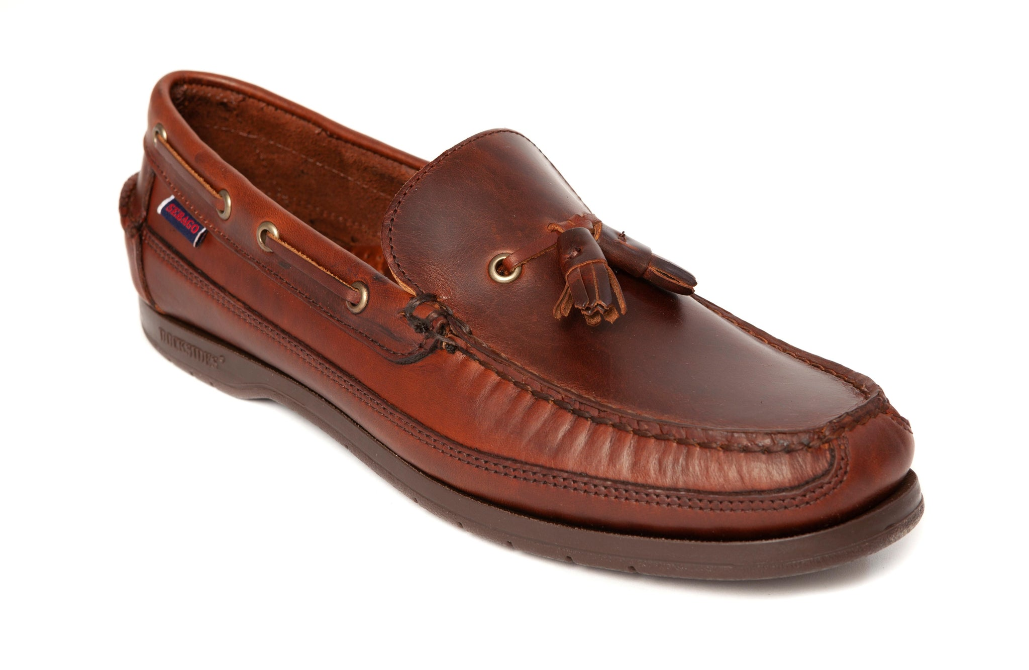 Sebago - Ketch Waxed Loafer - Brown - Regent Tailoring