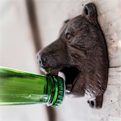 Men's Society - Bear Head Bottle Opener