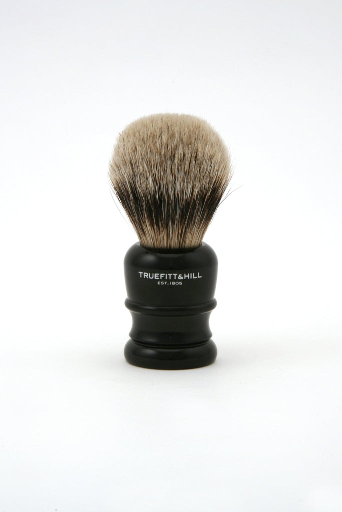 Truefitt & Hill - Wellington Badger Shaving Brush - Ebony - Regent Tailoring