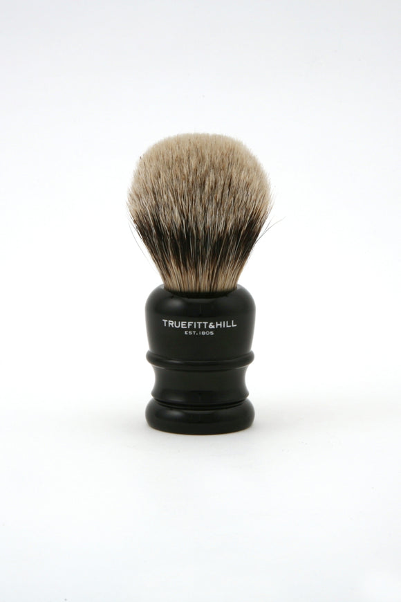 Truefitt & Hill Wellington Badger Shaving Brush - Ebony