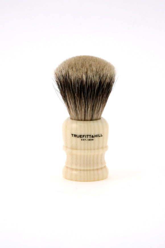 Truefitt & Hill Wellington Badger Shaving Brush - Ivory