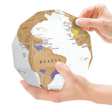 Load image into Gallery viewer, DIY Scratch Globe World Map