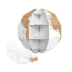 DIY Scratch Globe World Map