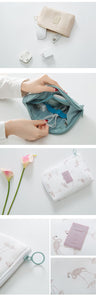 Stylish Storage Pouch for Electronics - Traveller's Atlas