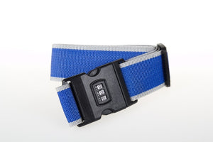 Nylon Luggage Straps with 3-Digit Combination Buckle Lock