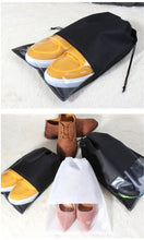 Load image into Gallery viewer, Portable Waterproof Shoe Pouch - Traveller's Atlas