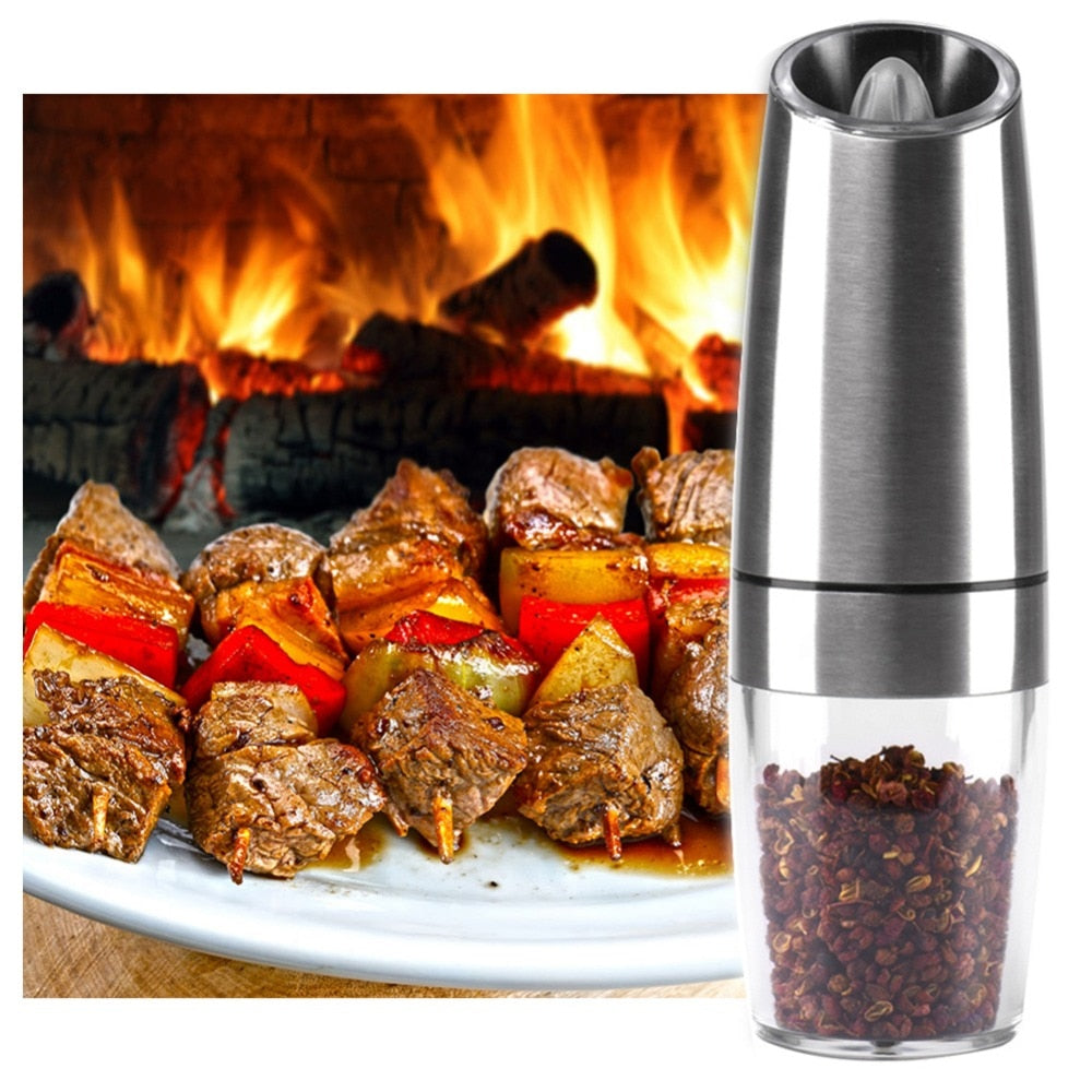 Automatic Electric Pepper Grinder With LED Light