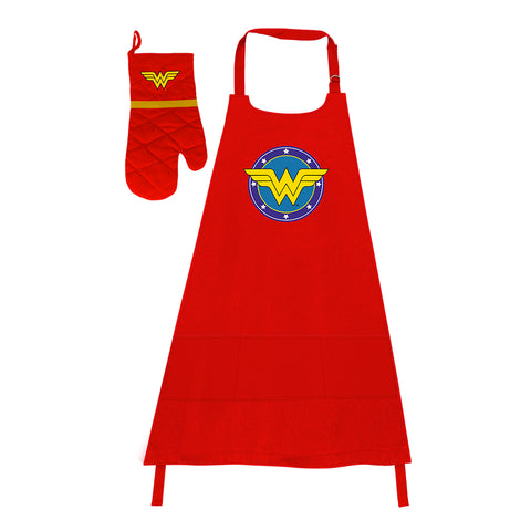 KIT ASADOR WONDER WOMAN CLASSIC
