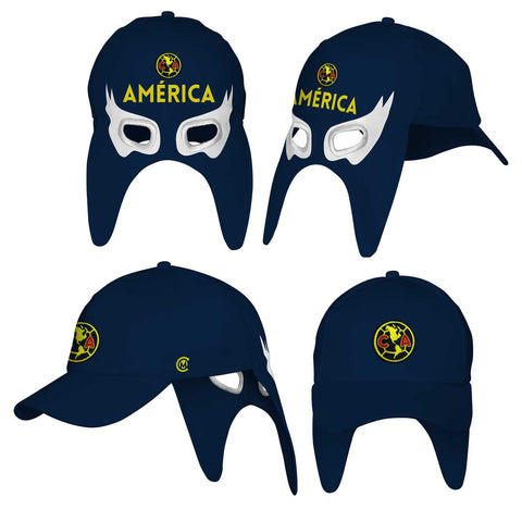 GORRA TRANSFORMABLE AMÉRICA AZUL