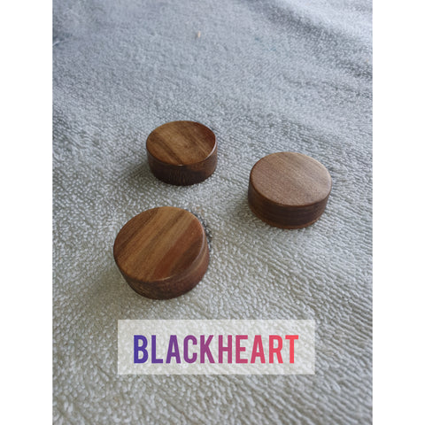 3 pcs Wooden Guitar Knobs for 6mm Split Pin