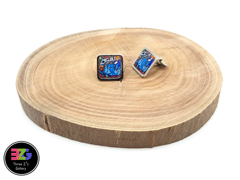 graffiti cufflinks by three zs gallery